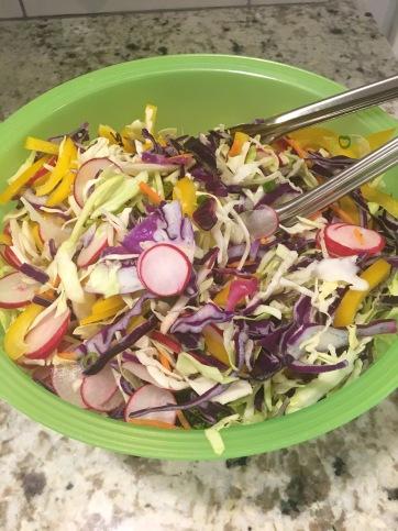 Thai Chicken Salad Bowl