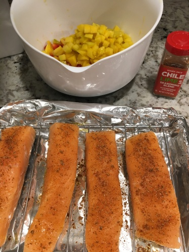 Salmon Roast Pan