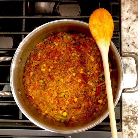 Chipotle Picadillo Pot
